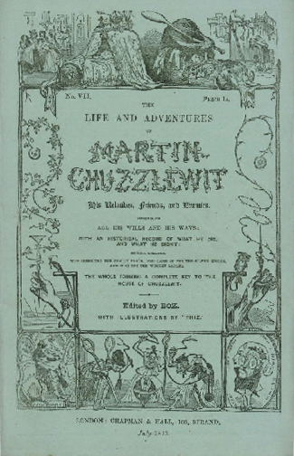 Featured Book For 2016: Life And Adventures Of Martin Chuzzlewit