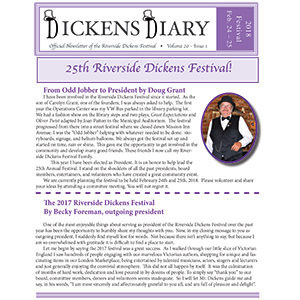 Dickens Diary – May 2017