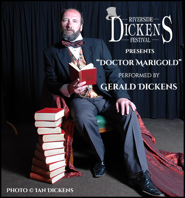 "Gerald Dickens Performs ""Doctor Marigold"""
