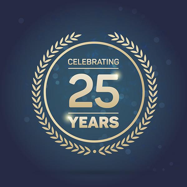 Silver Jubilee • 25 Years Of Wit & Wisdom!